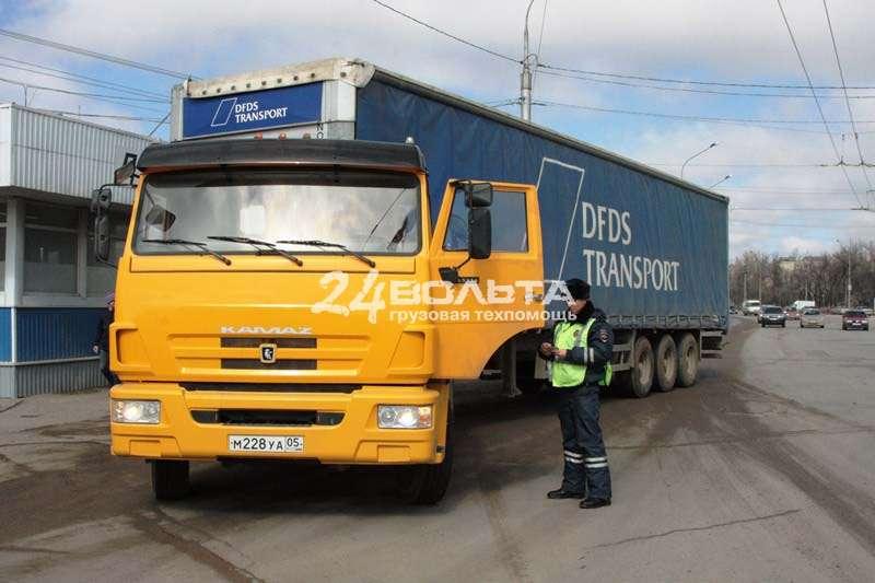 Штраф за абс на грузовые автомобили