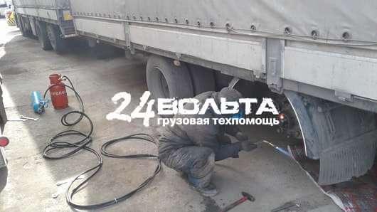 Ремонт грузовых ступиц