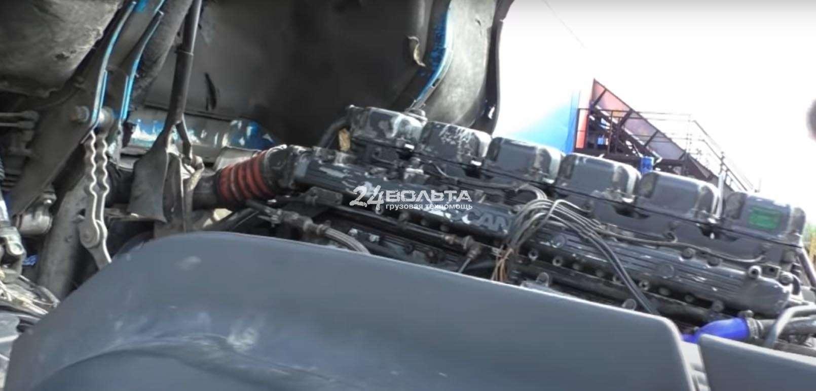 Ремонт двигателя Скания
