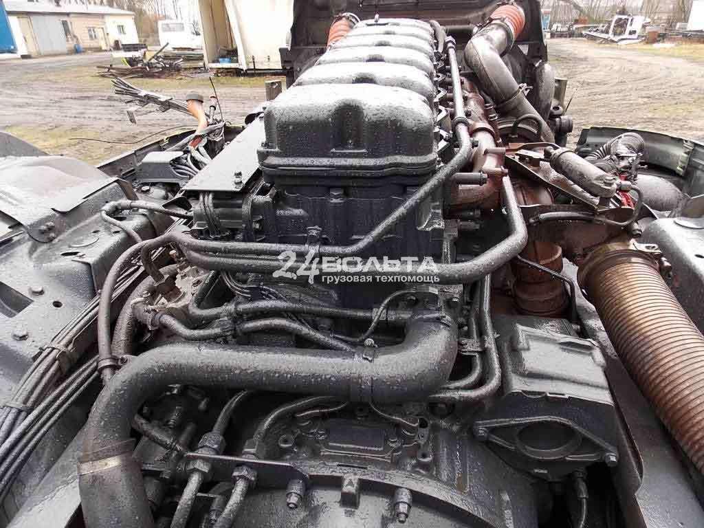 Двигатель  Скания