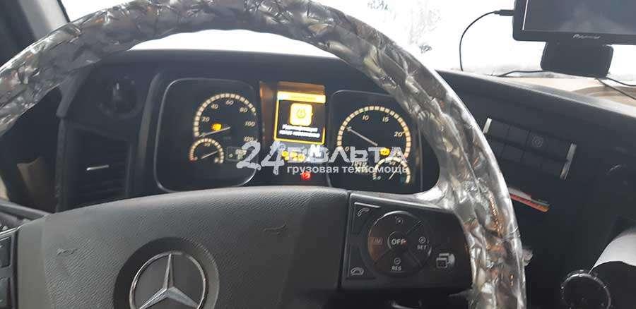 Не крутит стартер Mercedes Actros