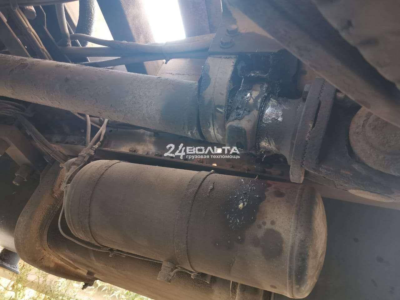 Замена подвесного подшипника Mercedes Actros