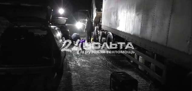 Техпомощь грузовым в Тюмени