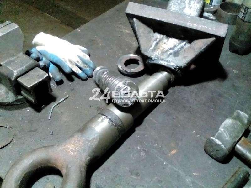Токарные работы по ремонту серьги прицепа