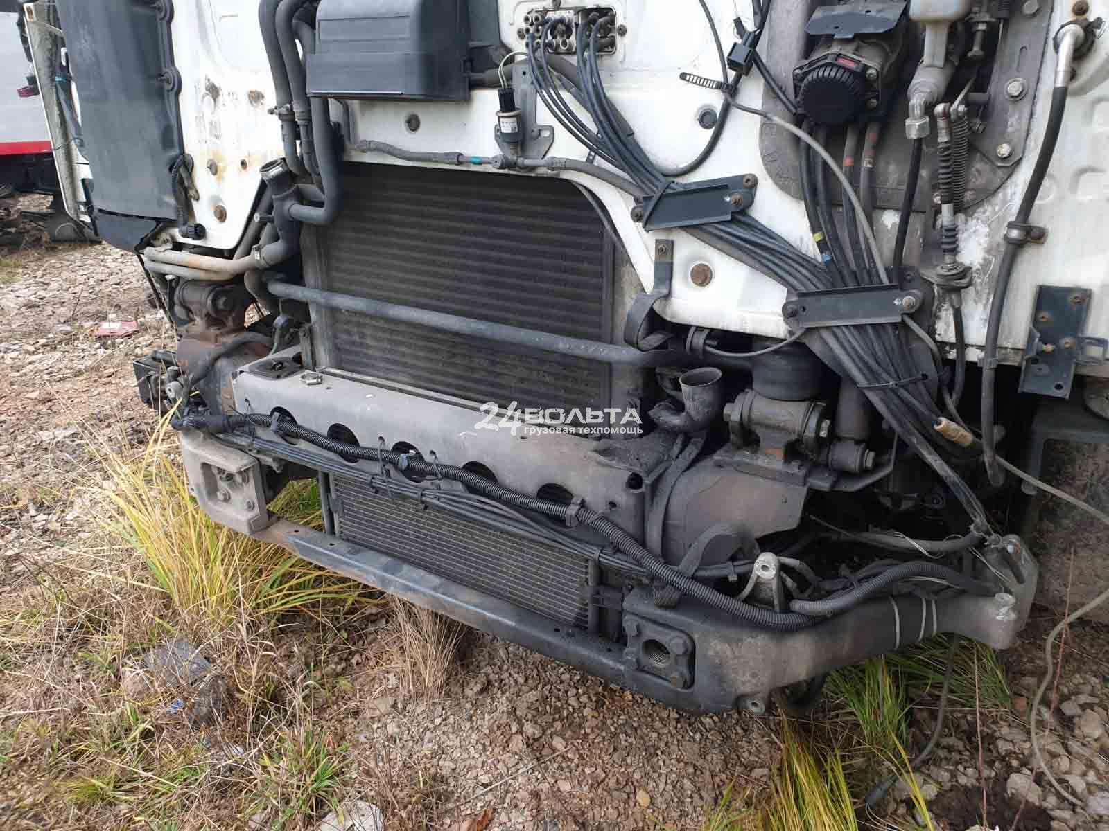 Замена радиатора грузового автомобиля