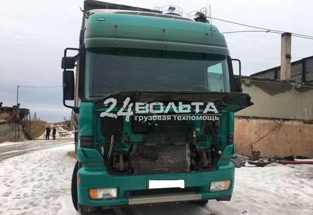 Замена радиатора грузовика с выездом