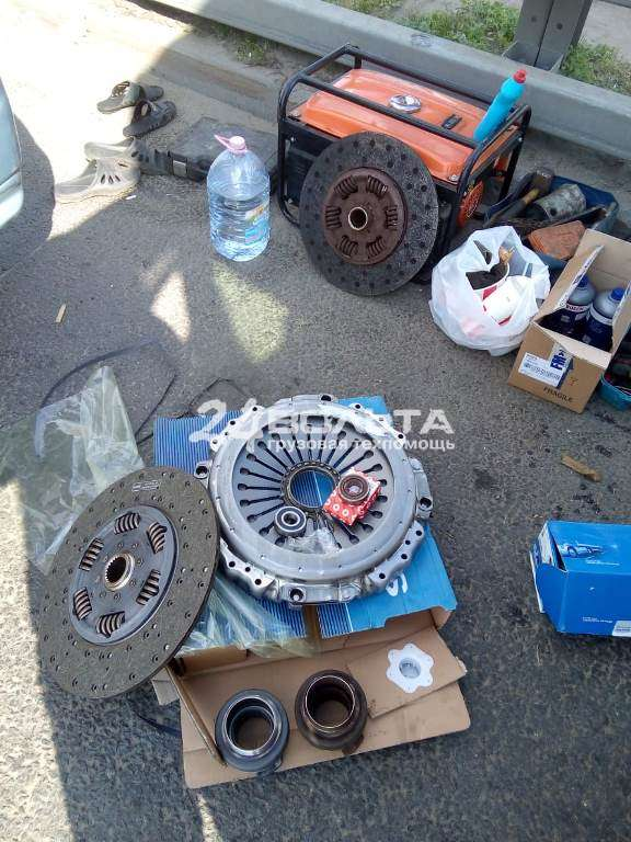 Замена сцепления Scania