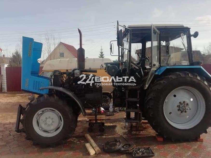 Замена сцепления трактора в Москве