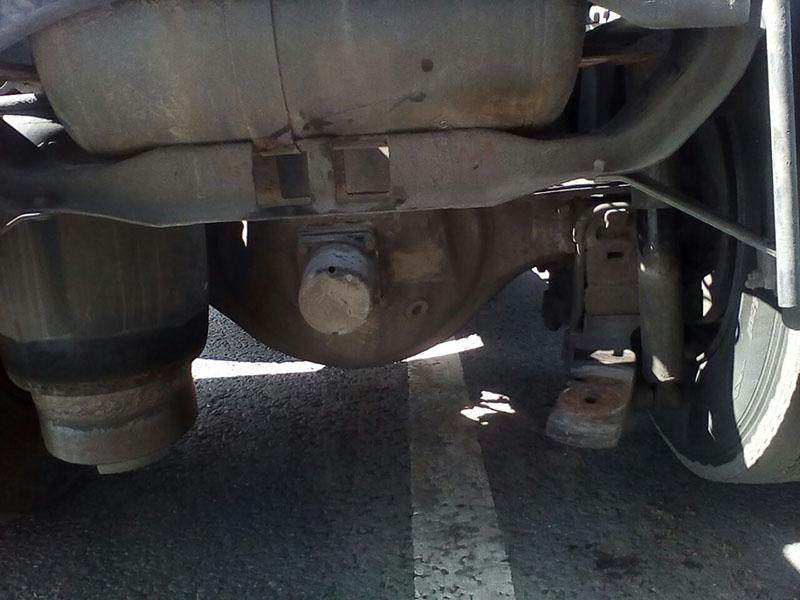 Замена пневмоподушки на грузовике