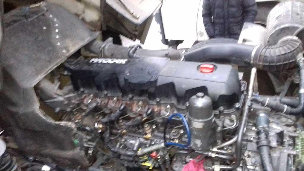 Ремонт двигателя Даф