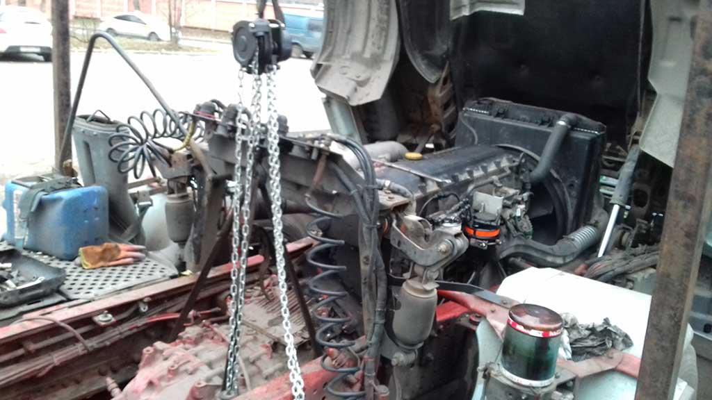 Замена сцепления грузовых Ивеко